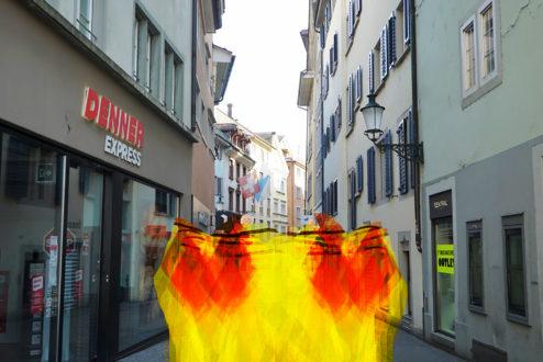 Wabbernder Angstkörper Niederdorf 4..7.2020